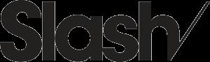 SLASH logo print