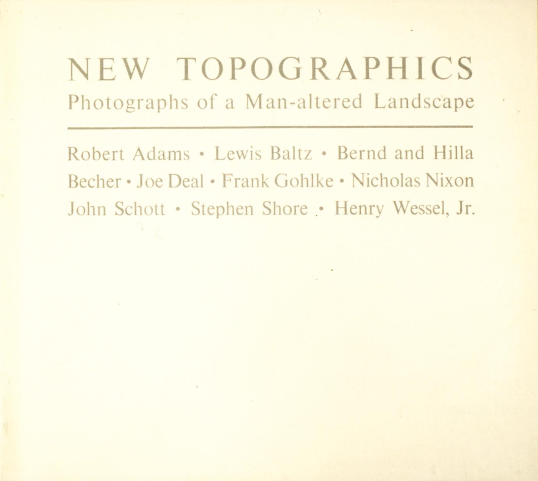 Le choix de la Bibliothèque # 9 – Autour des New Topographics