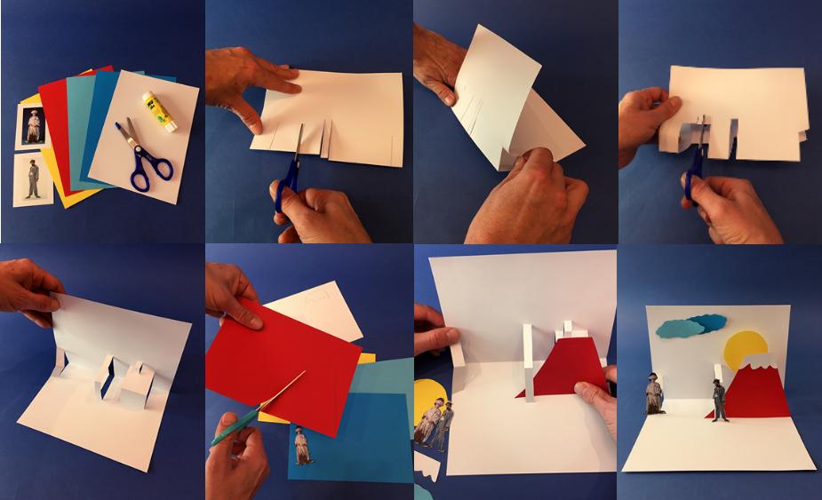 Atelier créatif : Pop-up Challenge